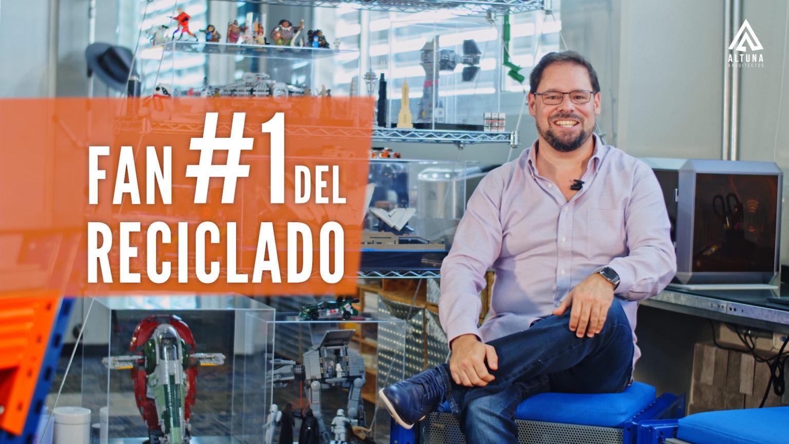 Arquitecto Antonio Altuna Fan del Reciclado